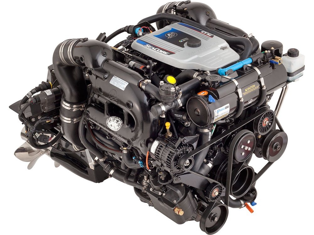 Mercruiser gasoline marine repower Newport Beach